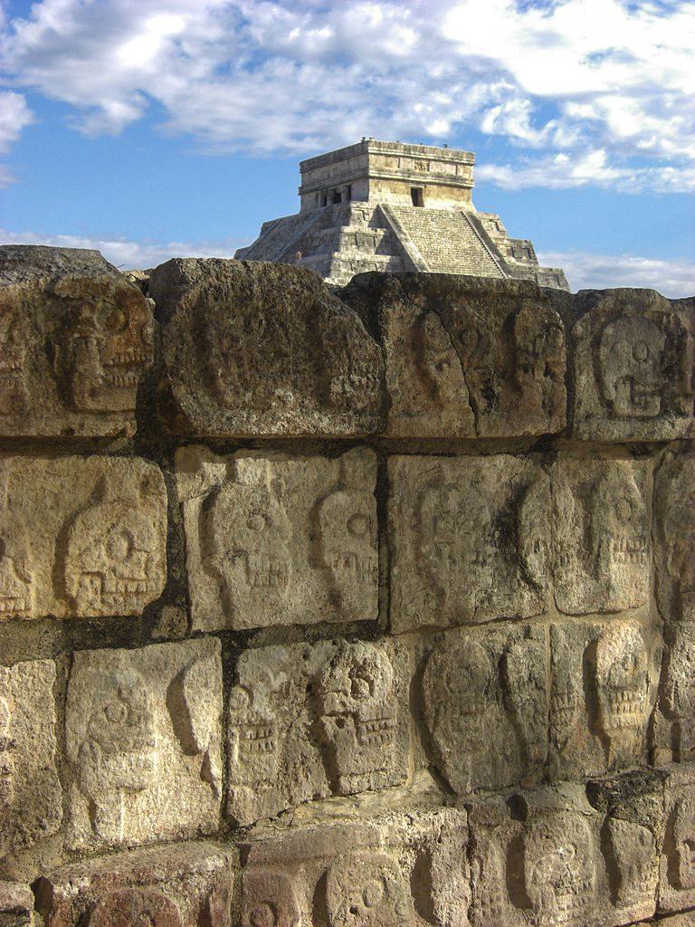 Calaveras de Chichen Itzá