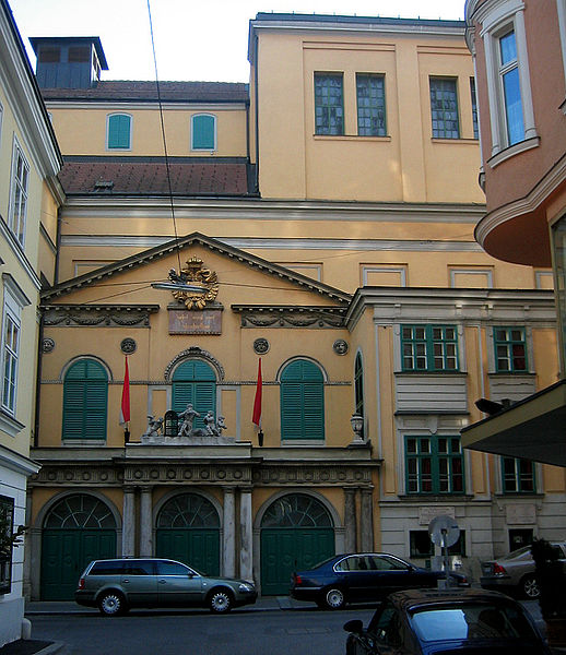 Wien-Theater-an-der-Wien-Papagenotor-Viena