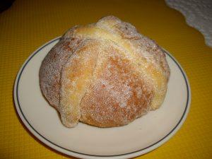 Pan de muertos en México