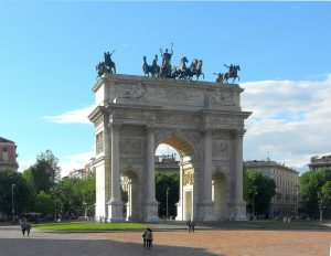 Arco de la paz.