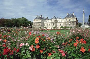 Los jardines de Luxemburgo