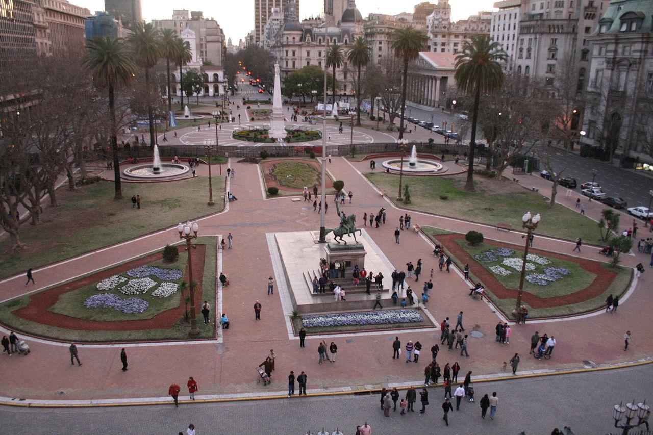 Plazas de Buenos Aires