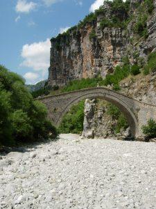 Gargantas del Vikos Parc Vikos nacionales. Grecia.