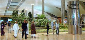 Turistas en Dubai.
