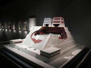 Maqueta del Templo Mayor de Tenochtitlán