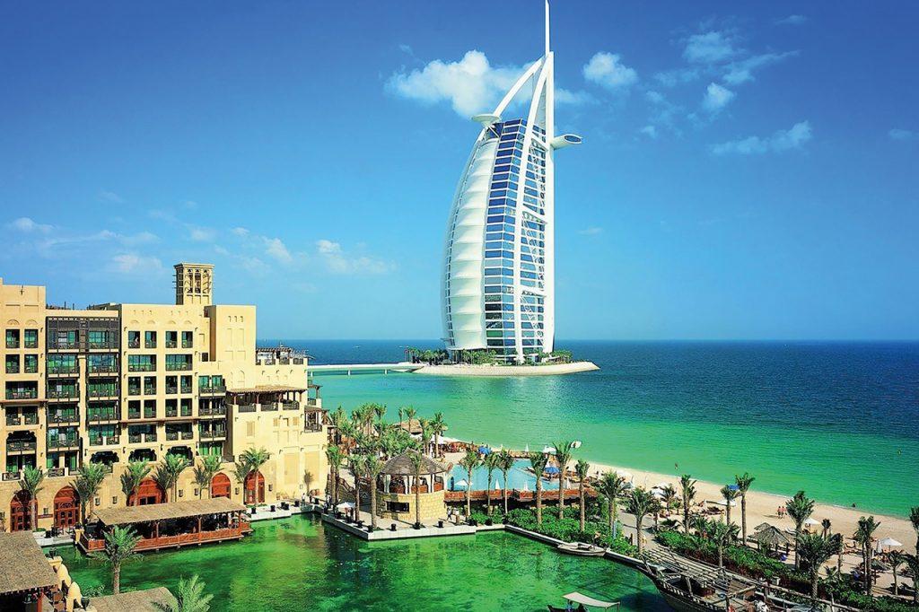 Vista-panorámica-de-Dubái