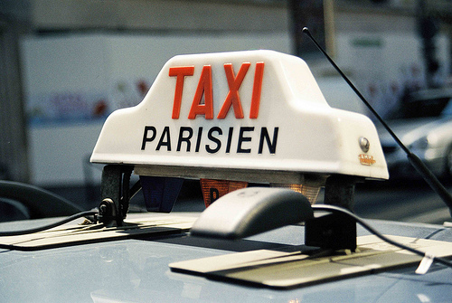 taxis en paris