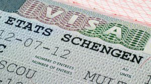 Visa turística para viajar a Italia.