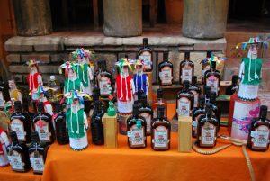 Botellas de charanda