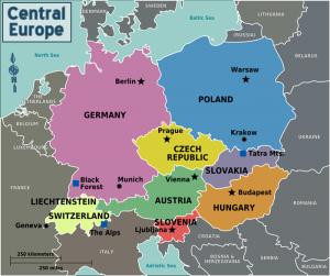 Países de Europa Central