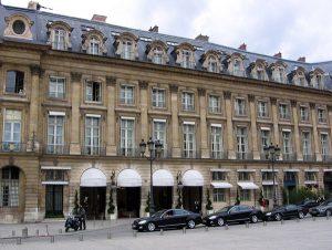 Hotel Ritz en París