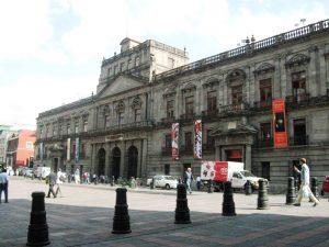 Palacio de Minería en Ciudad de Mexico
