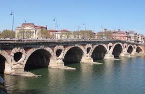 Vista del Pont Neuf de Toulouse