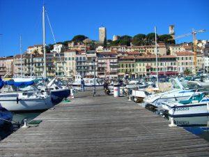 Puerto viejo de Cannes.