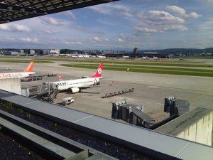 Aeropuerto de Zúrich.