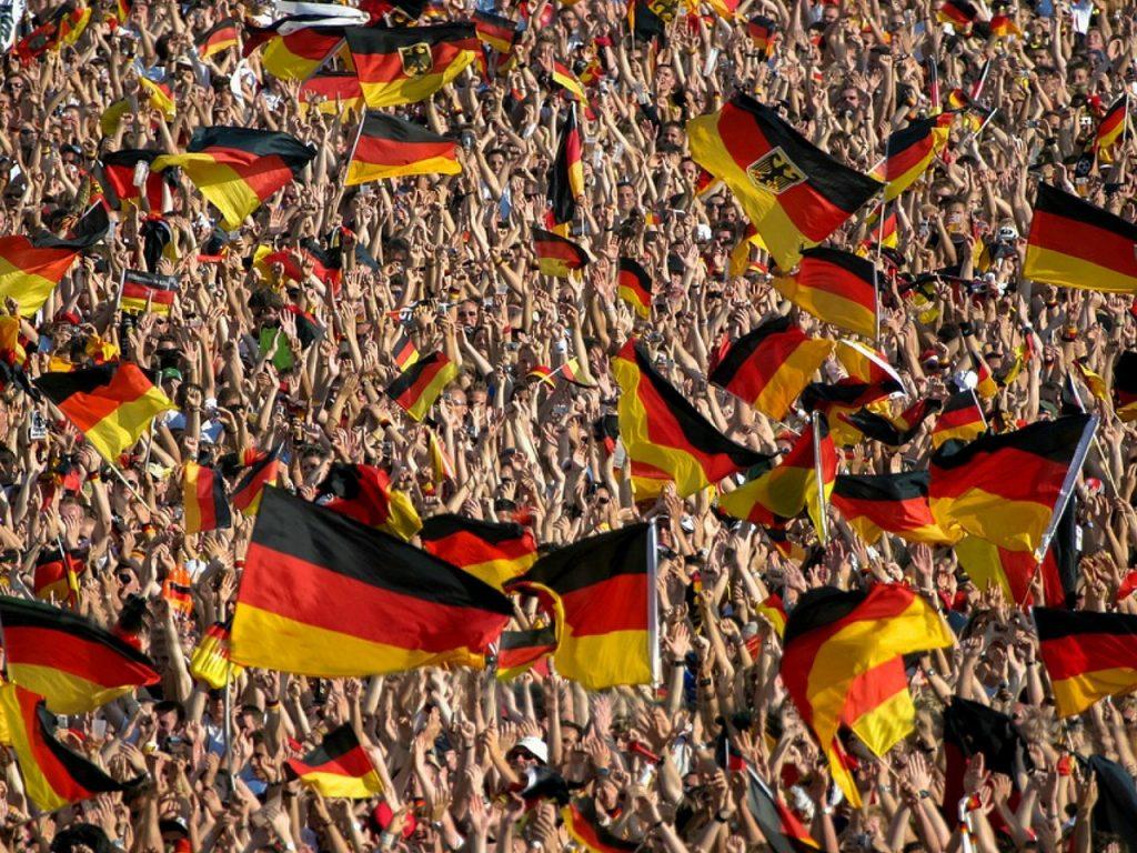bandera alemana