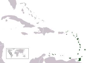 Antillas Menores ubicación