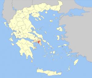 Atenas ubicación