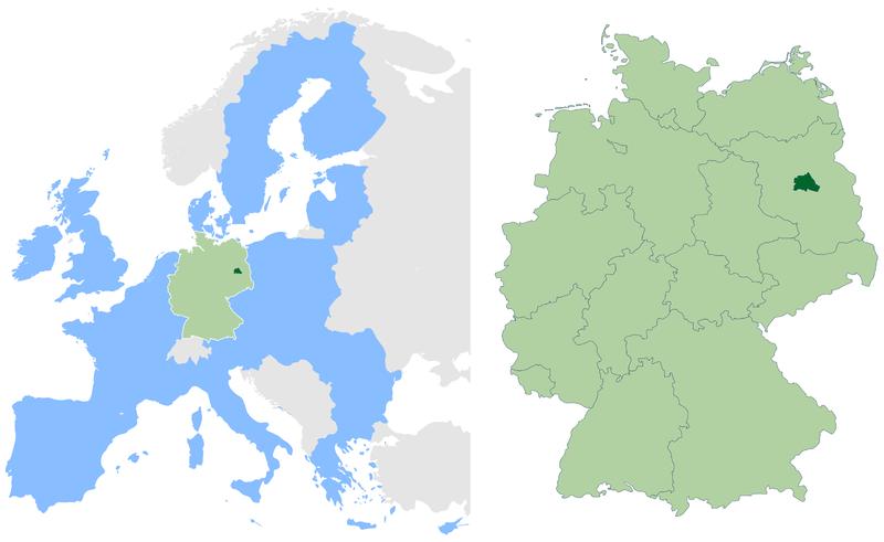Berlin ubicación