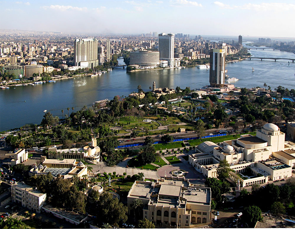 El Cairo zona moderna