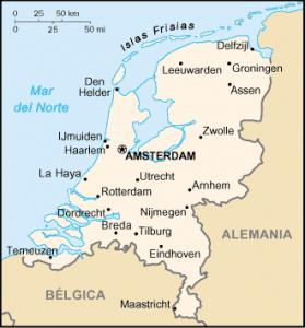 Holanda mapa