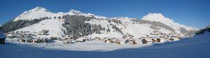 Lech am Arlberg Panorama
