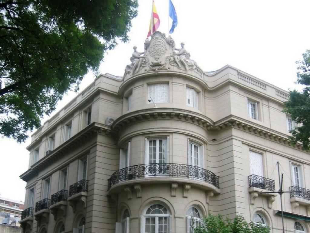 embajada de espana en argentina