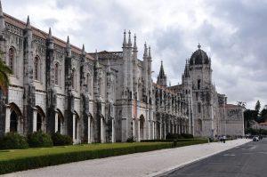 El monasterio de los Jerónimos de Lisboa.
