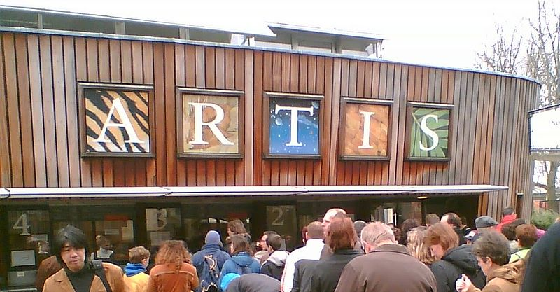 entrada al Artis Zoo