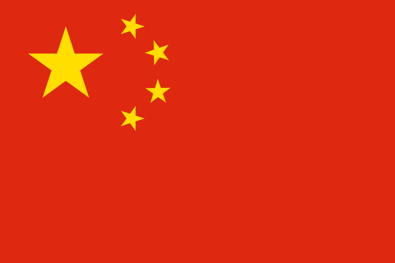 Bandera de China