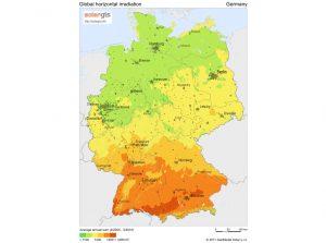 mapa de alemania en español