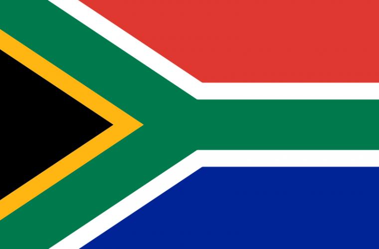 Bandera de Sudáfrica