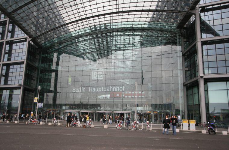 La estación central de Berlín (Berlin Hauptbahnhof)