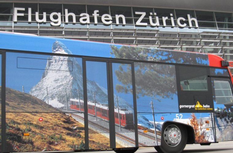 Transporte público en Zurich