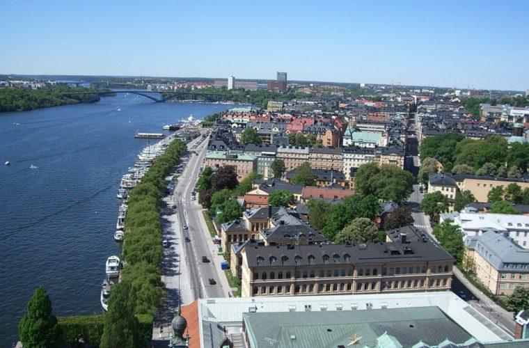 Ciudad de Estocolmo en Suecia