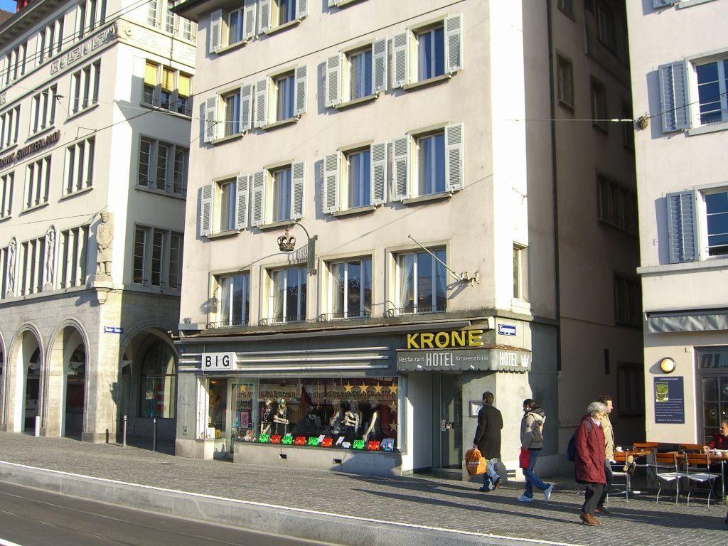 Hotel krone Limmatquai en Zurich