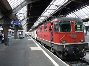 El S-Bahn es el sistema de trenes de Zúrich