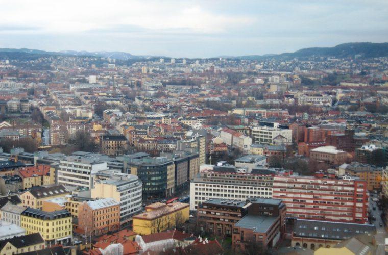 Vista de la ciudad de Oslo
