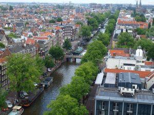 Vista panorámica de Ámsterdam
