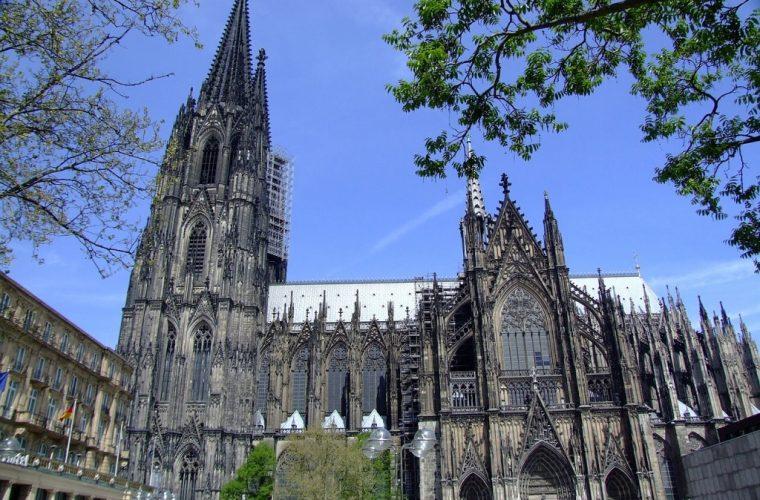La catedral de Colonia en Alemania