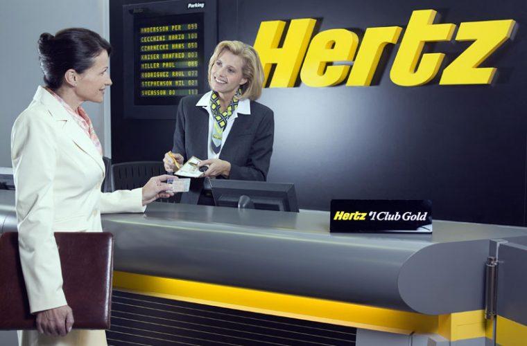 Hertz, empresa de alquiler de coches en Alemania