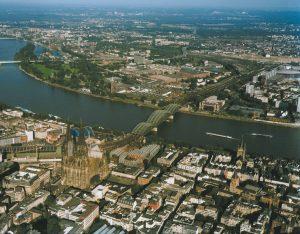 La ciudad de Colonia es una importante ciudad en Alemania