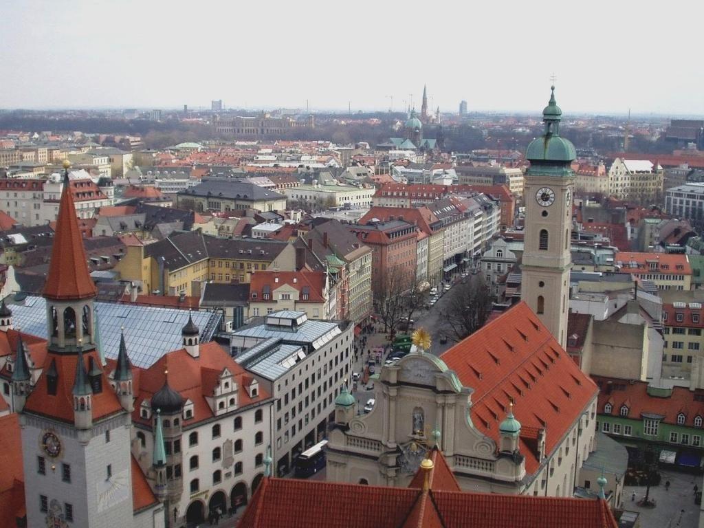 Sitios turísticos de Alemania Múnich