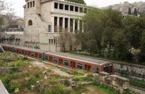 Atenas: llegar en tren