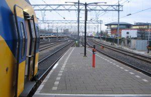 Servicio de trenes en Ámsterdam