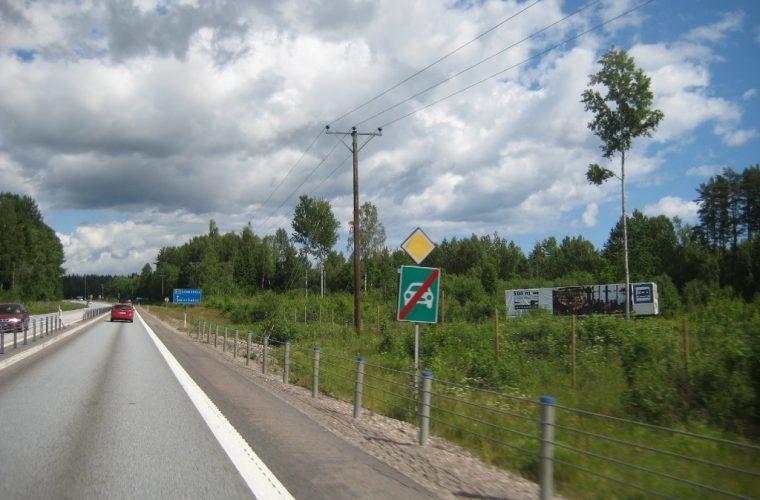 Estocolmo carretera
