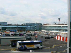 Autobuses en el Aeropuerto de Londres-Heathrow