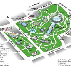 Mapa del Parque de la Reserva
