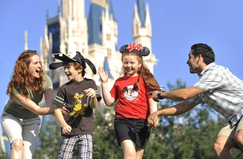 Planificar unas vacaciones en Disney con los niños