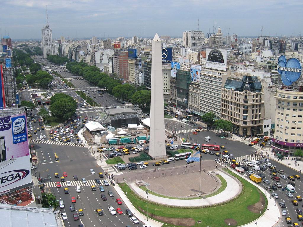 Vista panorámica de Buenos Aires
